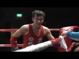 57 kg Almaz Sarsembekov (KAZ) - Man Long Ng (MAC). Semifinal. Asia Championship 2018 (Macao)