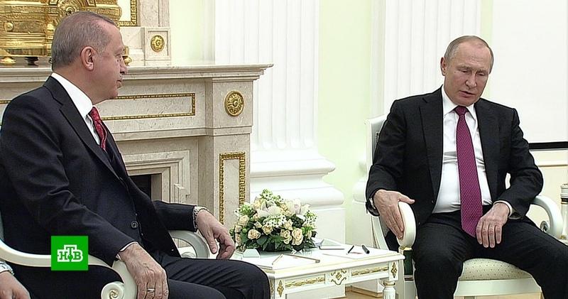Новая ситуация в Сирии: Эрдоган хочет заручиться поддержкой Москвы