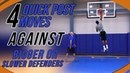 4 Quick Post Moves Against Bigger Or Slower Defenders