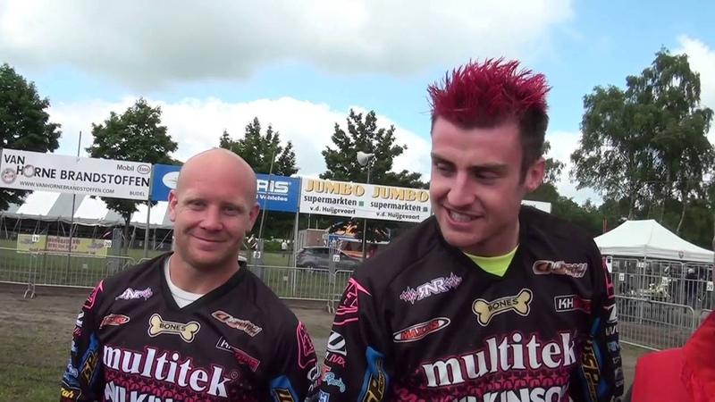 GrandPrix Zijspannen bij M.V.V op EuroMotorCircuit en de Quads in Valkenswaard ( 19-06-2016 )