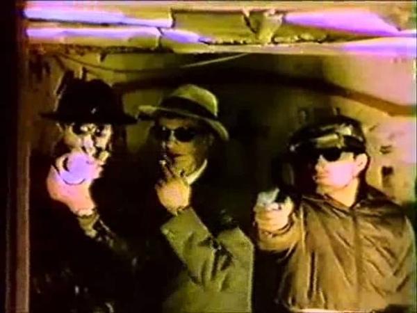 Borghesia-Divlja Horda (1983 First Promo Video Clip -EBM-Electro Punk-Darkwave)