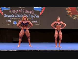 Наталия Кузнецова (Трухина) на турнире 2018 Romania Muscle Fest Pro/Am