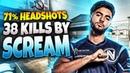 CS:GO - ScreaM 38 frags (71% Headshots) on Cache @ FACEIT