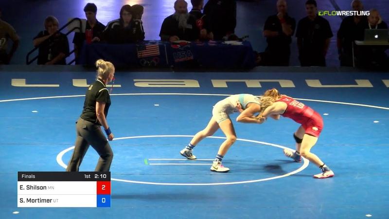 2018 USMC-USAW Cadet Junior Women FS Nationals/Junior Women 100 Finals - Emily Shilson (MN) Vs.