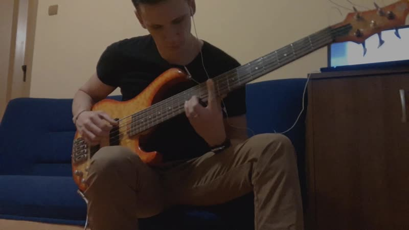 Ramm - Komm in mein Boot ( bass cover )