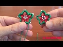 46' TUTORIAL FACILE STELLA NATALE CHIACCHIERINO AD AGO STAR CHRISTMAS NEEDLE TATTING FRIVOLITE'