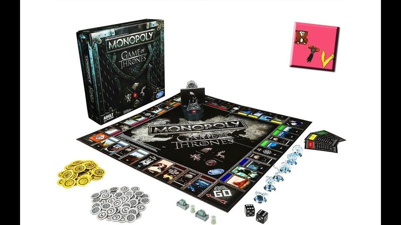 Монополия Игра Престолов от Hasbro / обзор новинки Monopoly Game of Thrones