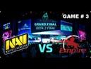 TECHLABS CUP RU 2013 GRAND FINAL Dota 2 Na'VI vs Empire game 3