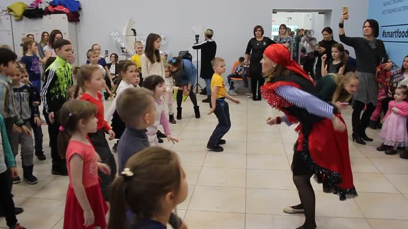 Праздничный танец Пиратов - NL - презентация продукта Едешка