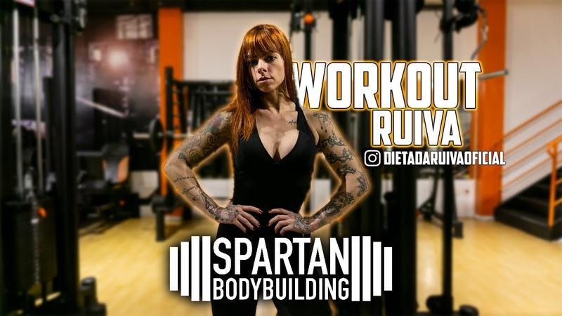 Andrea Christina Ribeiro workout motivation Spartan Bodybuilding