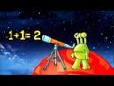 Монстрик Звездочёт Нумерация чисел в пределах 10 Число 2 The Number Chart 1-10