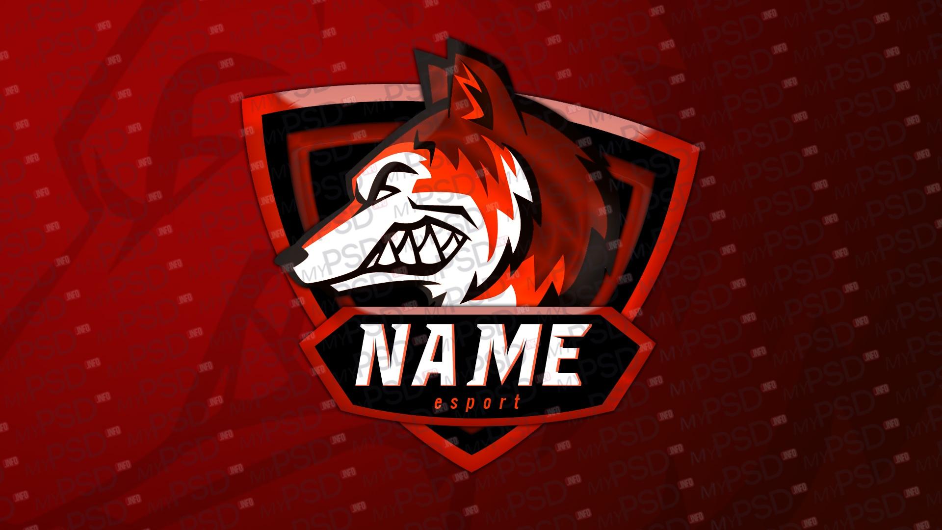 Логотип FOX для команды в PSD
