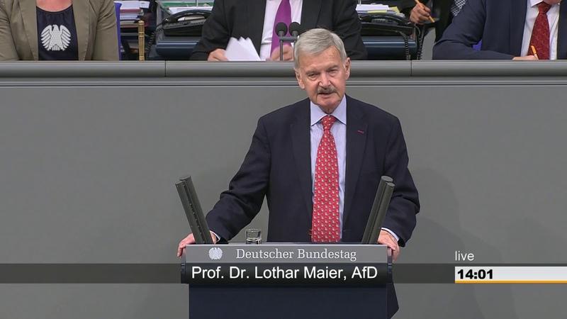 Lothar Maier (AFD) Wollen Sie überhaupt ein verteidigungsfähiges Deutschland