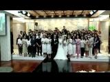 Хён Джун на свадьбе друзей 05.2018