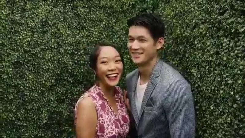 Caught in the act HarryShumJr and Shelby Rabara at VCPoloClassic LA 6th October 2018
