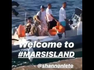 Shannon Leto mars island