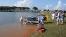 Giant Scale Cub On Floats At Joe Nall 2012