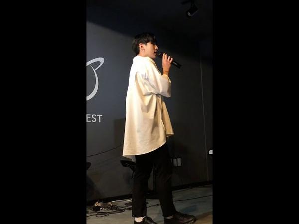 190331 디오비 제 1회 김민석의 스케치북 봉근(Bong Geun) - 우산(Umbrella)(Feat. JIN)(Prod. 범고래)