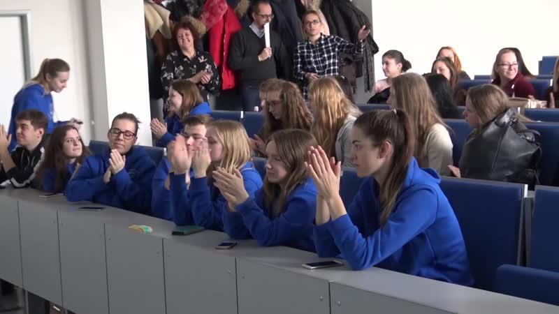 Návšteva ruských študentov na FF UKF
