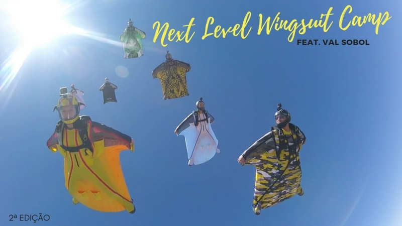 Next Level Wingsuit Camp feat. Val Sobol