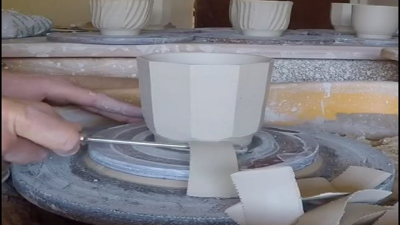Most Satisfying Pottery Videos II Best Pottery Making Carving and Scraping