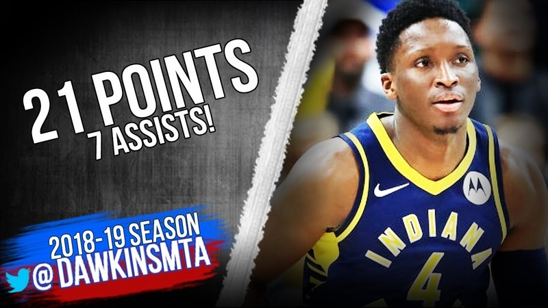 Victor Oladipo Full Highlights 2019.01.20 Pacers vs Hornets - 21 Pts, 7 Asts! | FreeDawkins