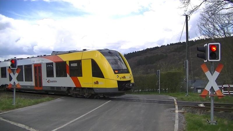 Spoorwegovergang Neunkirchen (D) Railroad crossing Bahnübergang