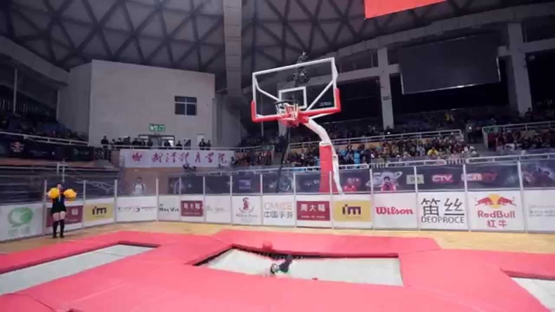 SlamBall Game shot by MOZA Stabilizer
