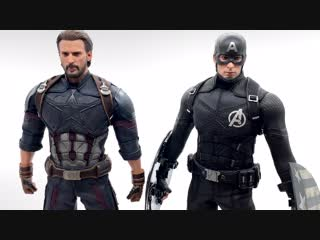 [Justin's Collection Eng] Hot Toys Infinity War Captain America Comparison Video