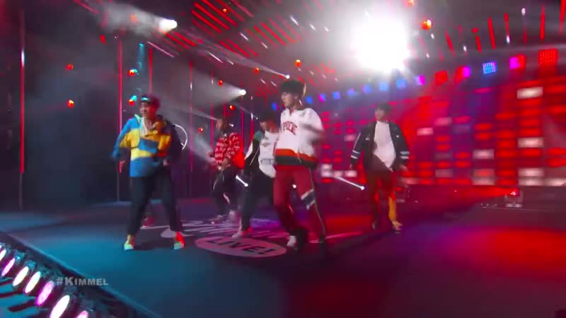 17115 BTS Jimmy Kimmel Live Blood Sweat and Tears