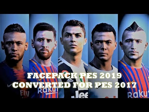 New Face Pack PES 2019 Converted For PES 2017 by KDM