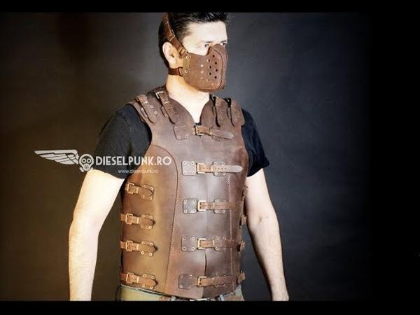 Men Leather Vest tutorial