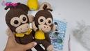 Amigurumi Maymun Perde Tutucu ve Maymun Yapımı