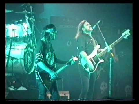 Motörhead - Lost In The Ozone live in Karlskoga, Sweden, 1993
