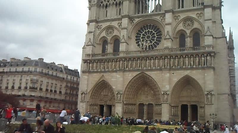 Франція Париж Острів Сіте Собор Парижської Богоматері