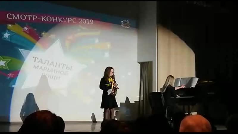 Башлыкова Анастасия. Побндитель. Гала-концерт 19 03 2019