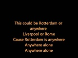 The Beautiful South - Rotterdam (Or Anywhere) with lyrics