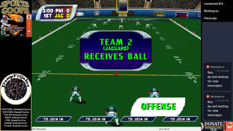 Sports Goofs Podcast 1182018 - NFL Blitz 2001