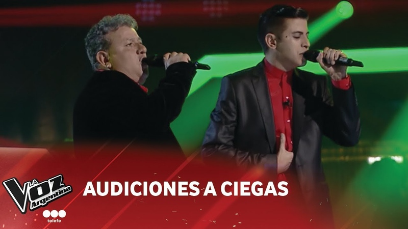 Dúo Duarte - Dejame que me vaya - Roberto Ternan - Audiciones a ciegas - La Voz Argentina 2018