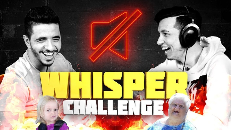 The Whisper Challenge with woxic ISSAA