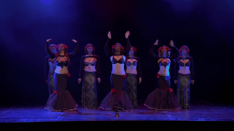 ZOE JAKES COVEN, theatrical tribal fusion, at The Massive Spectacular! Beats Antique