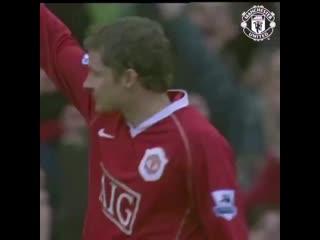Il y a 12 ans, ole gunnar solskjaer marquait son 126e et dernier but sous le maillot de manchester united. mufc -