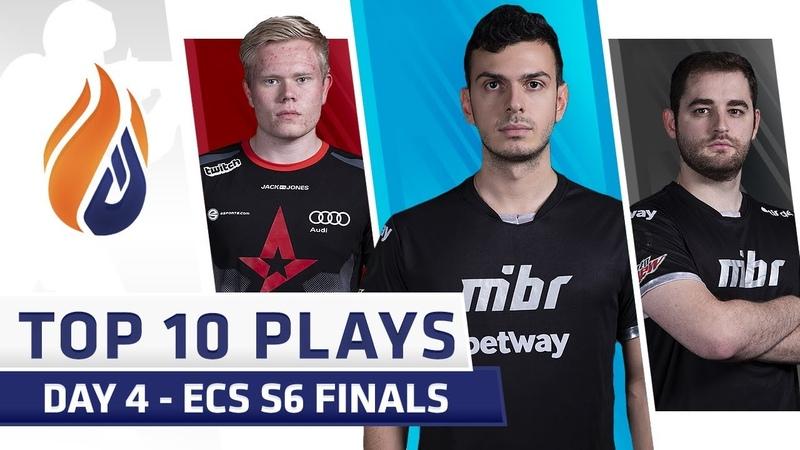 Top 10 Plays DAY 4 ECS S6 Finals Feat tarik Fallen Magisk