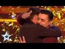 Marc Spelmann gets the first Golden Buzzer of 2018 Auditions Week 1 Britain's Got Talent 2018