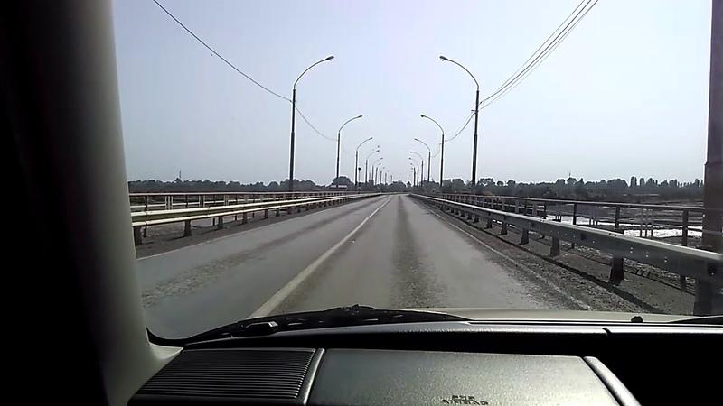 Мост через реку Самур, сентябрь 2018 | дорога в поселок Приморский(Приморск), южный Дагестан