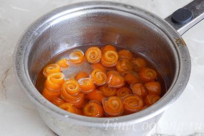 Варенье из апельсиновых корок. Очень вкусно!