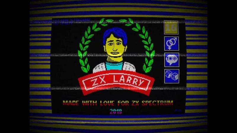 Ларри1 на Спектруме ZX Larry Leisure Suit Larry Remake 2019 for ZX Spectrum