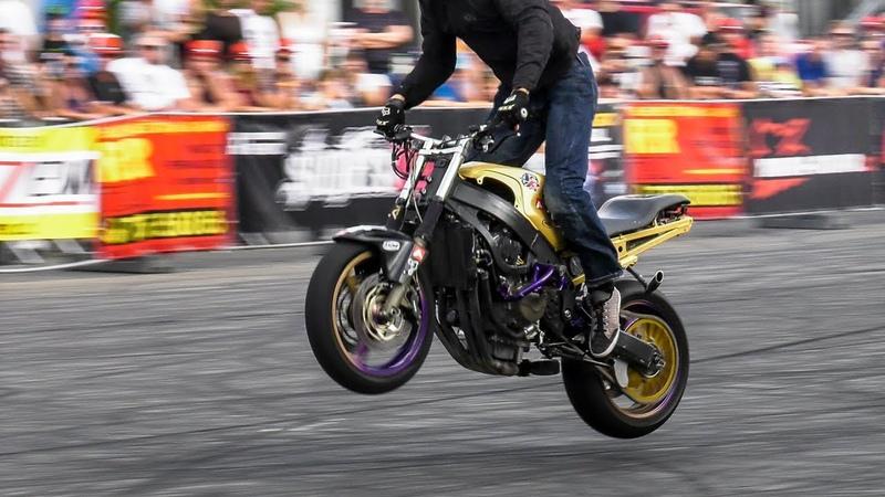 Amazing Stunt Riding by Mike Jensen - 1st Place Czech Stunt Day