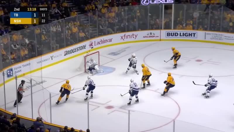 Tampa Bay Lightning vs Nashville Predators - Nov.19, 2018 - Game Highlights - NHL 2018-19 - НХЛ