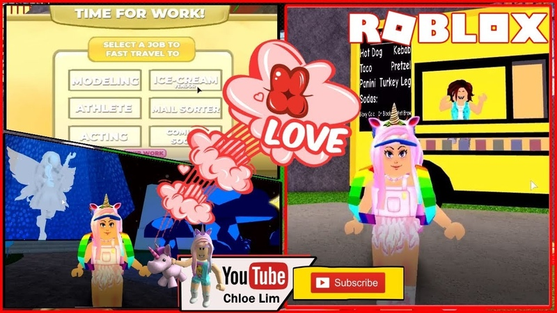 🏡 Robloxia World! HOUSING! Glitchy Decorating and Working for little money! LOUD WARNING!